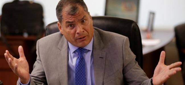 Ecuador retira seguridad oficial al expresidente Rafael Correa