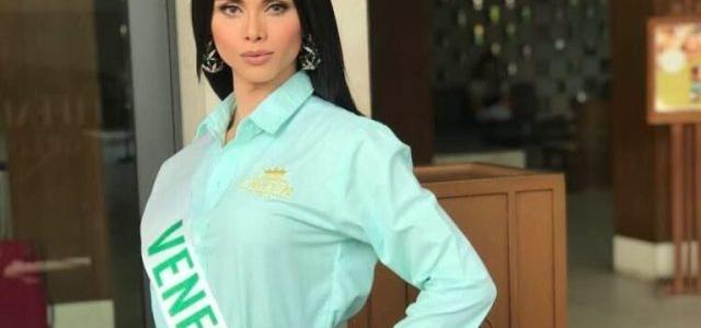 Michel Epalza, la mujer transgénero que aspira ser Miss Earth Venezuela 2019