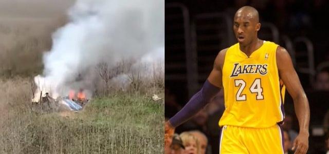 Sale a la luz un NUEVO VIDEO del accidente de Kobe Bryant grabado por un ciclista